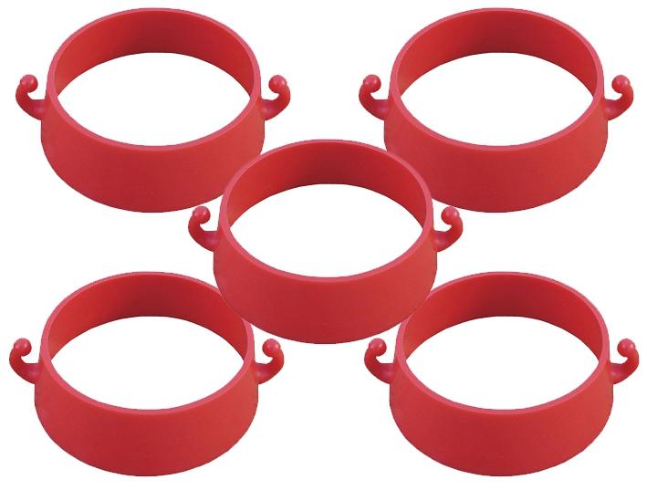 Lot de 5 crochets universels pour cône