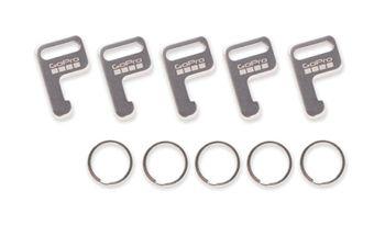 Lot de 5 porte-clés pour télécommande GoPro