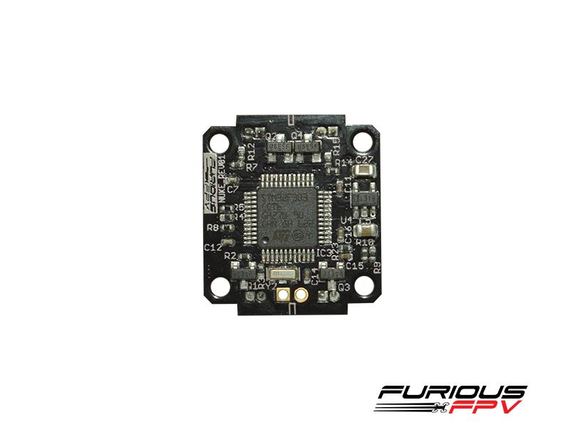 Micro contrôleur de vol Nuke de Furious FPV vue de dessous