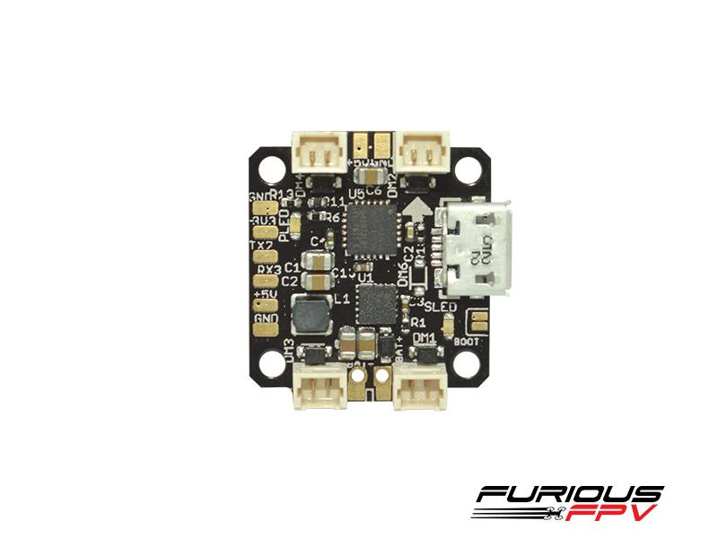 Micro contrôleur de vol Nuke de Furious FPV vue de dessus