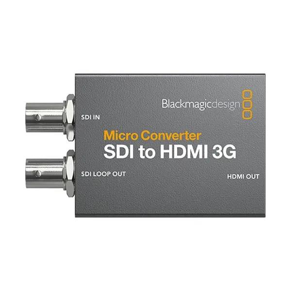 Micro Convertisseur SDI vers HDMI 3G PSU - Blackmagic