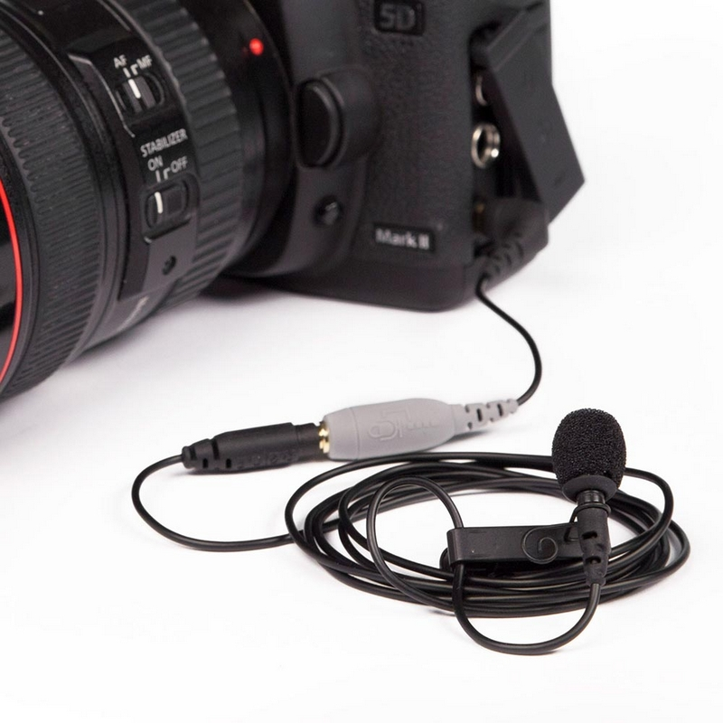 Micro lavalier RODE SmartLav+ pour caméras