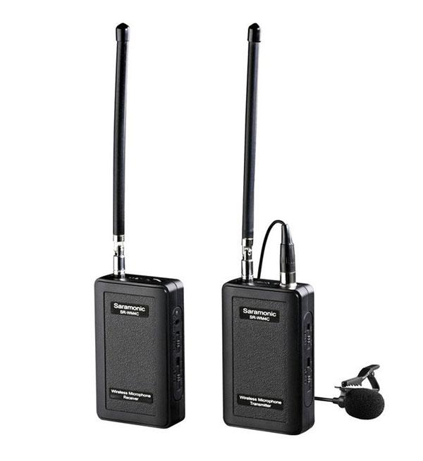 Émetteur et récepteur sans fil SR-WM4C - Saramonic