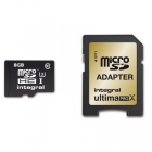 Carte microSDHC UltimaProX U3 8Go