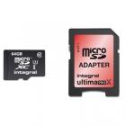 Carte microSDXC UltimaProX U3 64Go