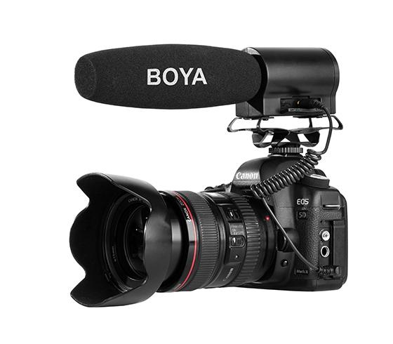 Microphone canon BY-DMR7 - BOYA