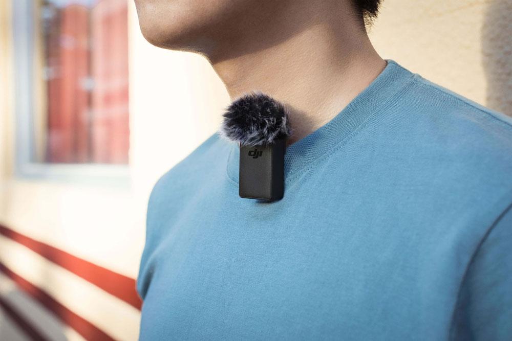 Microphone sans-fil pour DJI Pocket 2