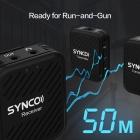 Microphones sans fil G1 (A2) 2.4GHz - SYNCO