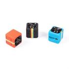 Mini Caméra 1080P Full HD orange noire et bleue