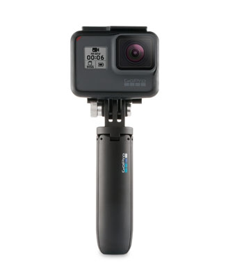 "Mini trépied et perche ""Shorty"" avec gopro Hero6 Black Edition"