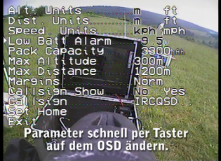Module d\'insertion vidéo ezOSD de ImmersionRC