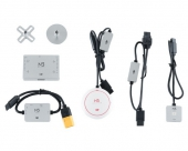 Module de stabilisation DJI N3 avec module LED, antenne GPS, support d'antenne, module PMU et câble de raccordement