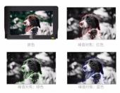 Moniteur 5 pouces pour Zhiyun Crane 2 montrant la fonction focus peaking