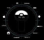 Montre connecté DM360 pour iOS & Android
