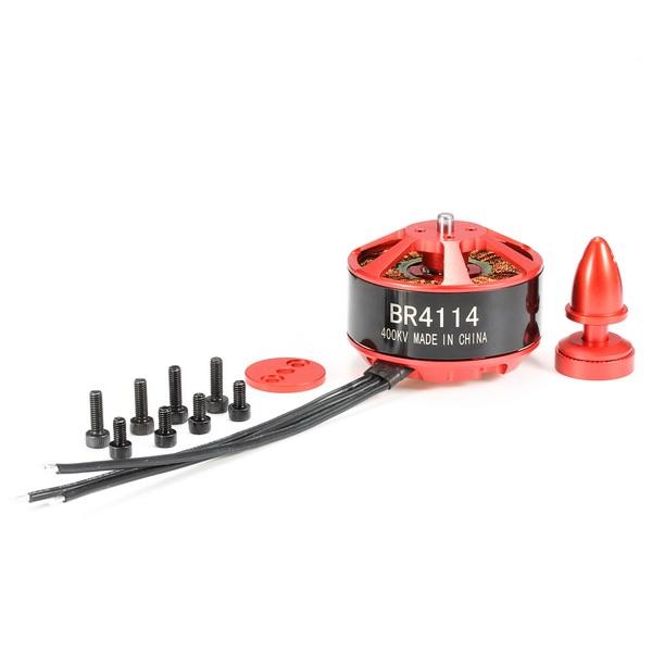 Moteur Racerstar Racing Edition BR4114 400KV 4-8S contenu du produit