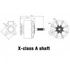Moteur Xnova XClass 700Kv TypeA Schéma