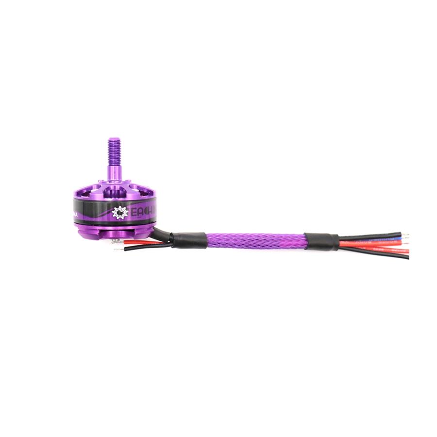 Moteurs Eachine MN2206 2300KV vue avec les câbles