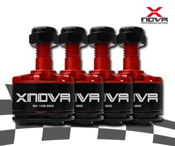 Moteurs Xnova 1406 3500Kv - Boite de 4