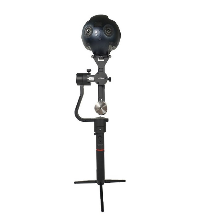 Moza Guru 360 Air  Gudsen avec Insta360 Pro