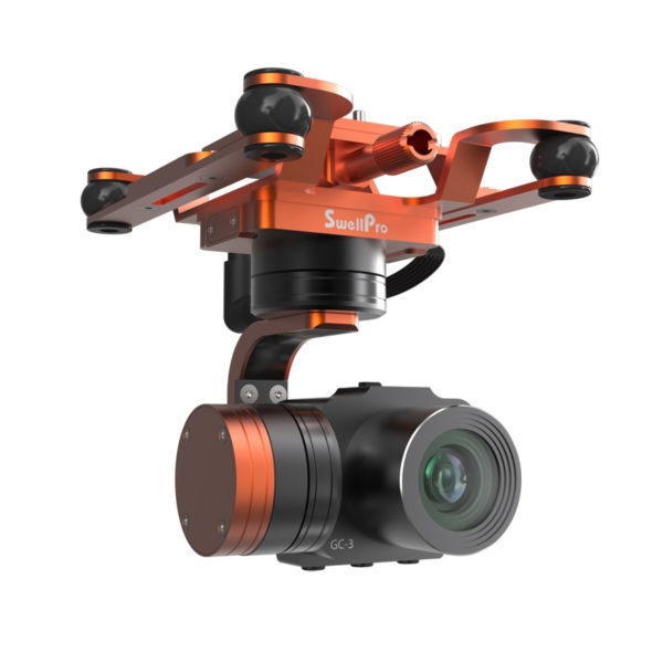 Nacelle et caméra 4K 3 axes étanche pour Splash Drone 3