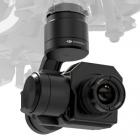 Nacelle et caméra DJI Zenmuse XT FLIR R 9Hz installée sur l'Inspire 1 DJI