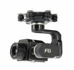 Nacelle 3 axes Feiyu FG pour caméras thermiques FLIR VUE PRO et TAU - vue de côté