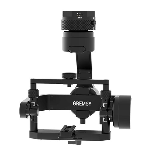 Nacelle Gremsy T1 - vue de face