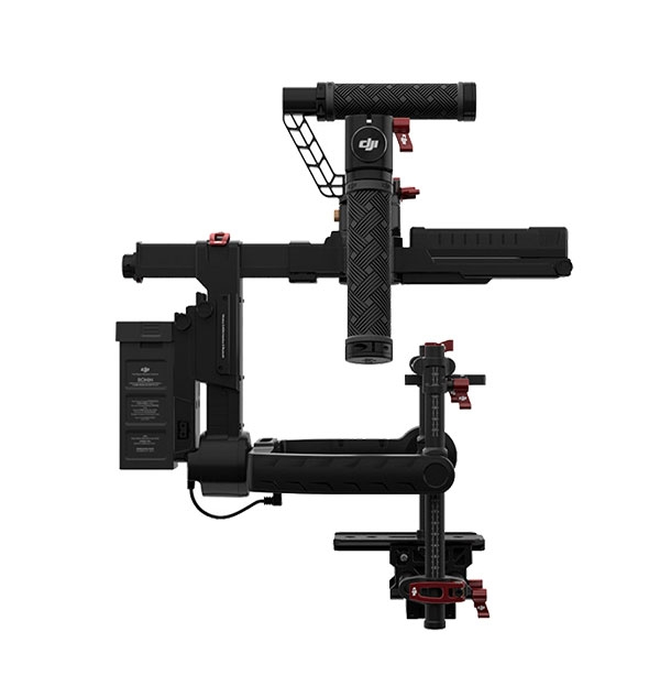 Nacelle main stabilisateur DJI Ronin-MX - vue latérale