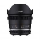 Objectif 14mm T3.1 VDSLR MK2 monture Canon EF - Samyang (en attente info)