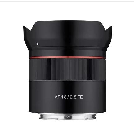 Objectif 18 mm F2.8 Sony FE - Samyang