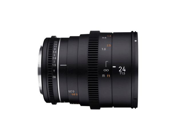Objectif 24mm T1.5 VDSLR MK2 - Samyang