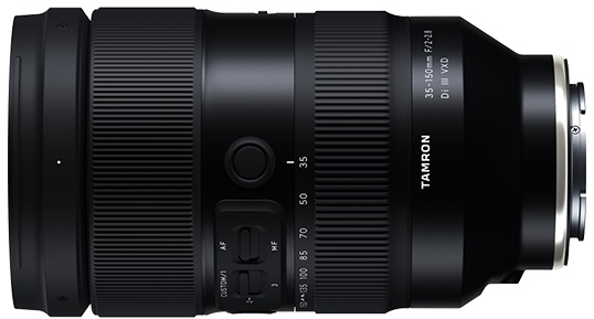 Objectif 35-150mm F/2.2.8 Di III VXD - Tamron