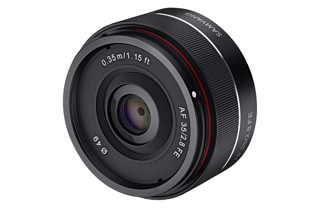 Objectif 35 mm F2,8 Sony FE - Samyang