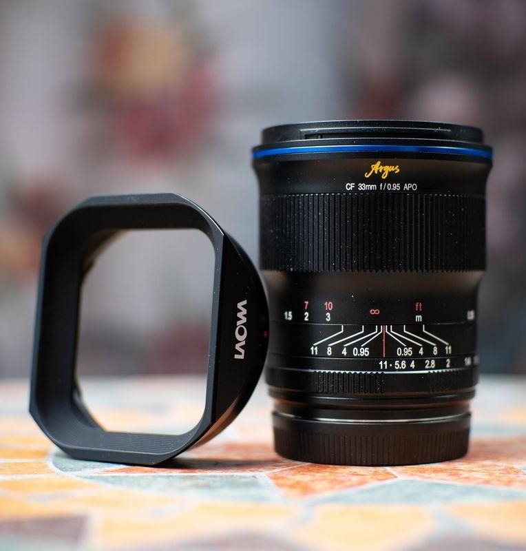 Objectif Argus 33mm F0.95 CF APO (Sony E) - Laowa