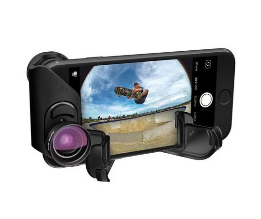 Objectif Core Lens pour iPhone 7 & 7 Plus Olloclip en mode trépied