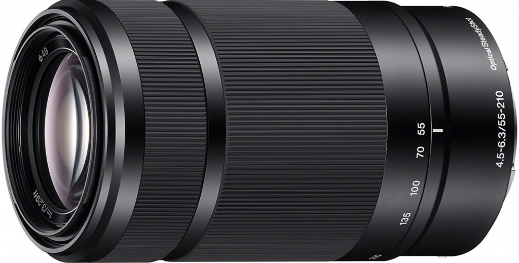 Objectif E 55-210 mm f/4.5-6.3 Noir - Sony