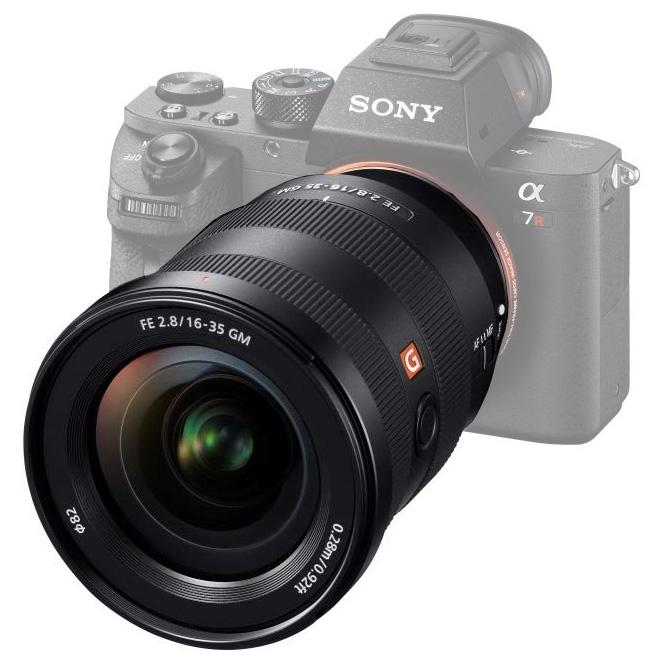 Objectif FE 16-35 mm f/2.8 G Master - Sony