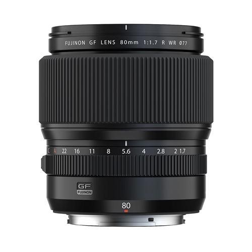 Objectif Fujinon GF 80mm f/1.7 R WR - Fujifilm