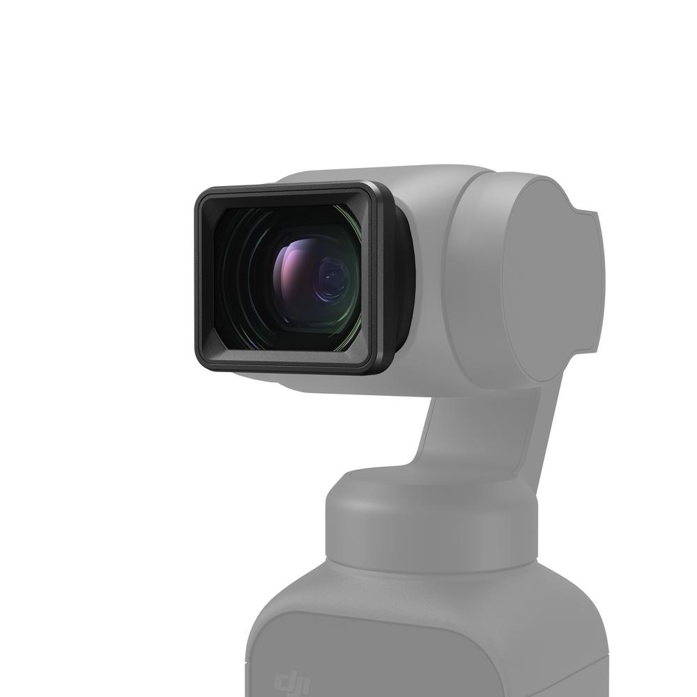 Objectif grand angle pour DJI Pocket 2