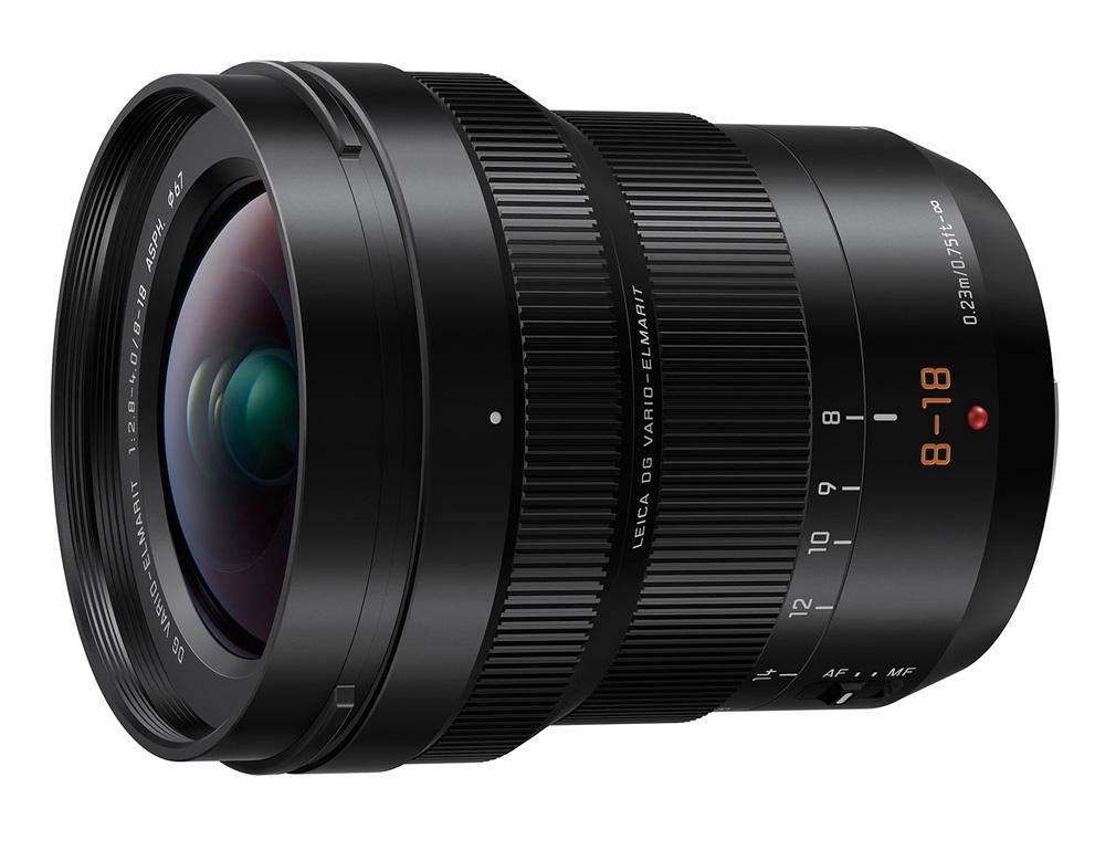 Objectif Leica DG Vario-Elmar 8-18 mm f/2.8 - Panasonic