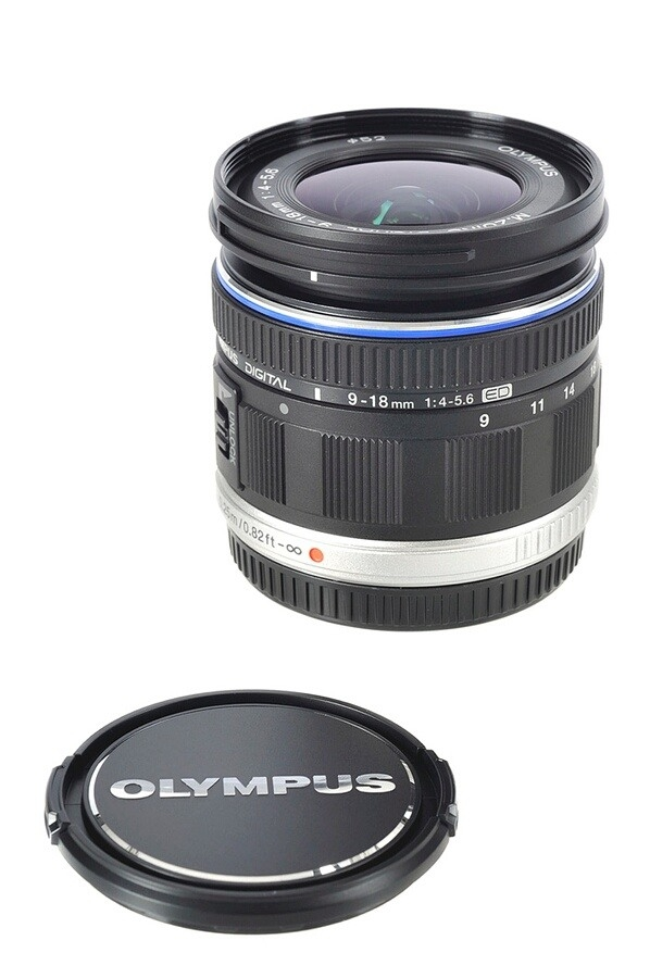 Objectif M.Zuiko Digital 9-18mm 1:4.0-5.6 - OLYMPUS