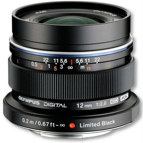 Objectif M.Zuiko Digital 12mm - OLYMPUS