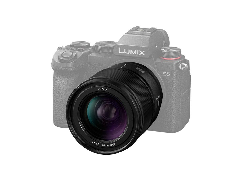 Objectif Panasonic Lumix S 24mm f/1.8