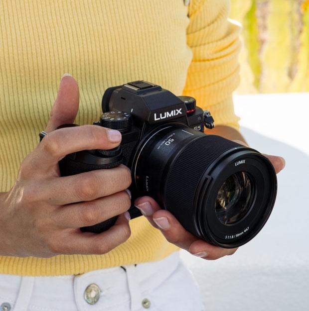 Objectif Panasonic Lumix S 50mm f/1.8