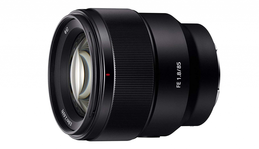 Objectif SEL FE 85 mm f/1,8 - Sony