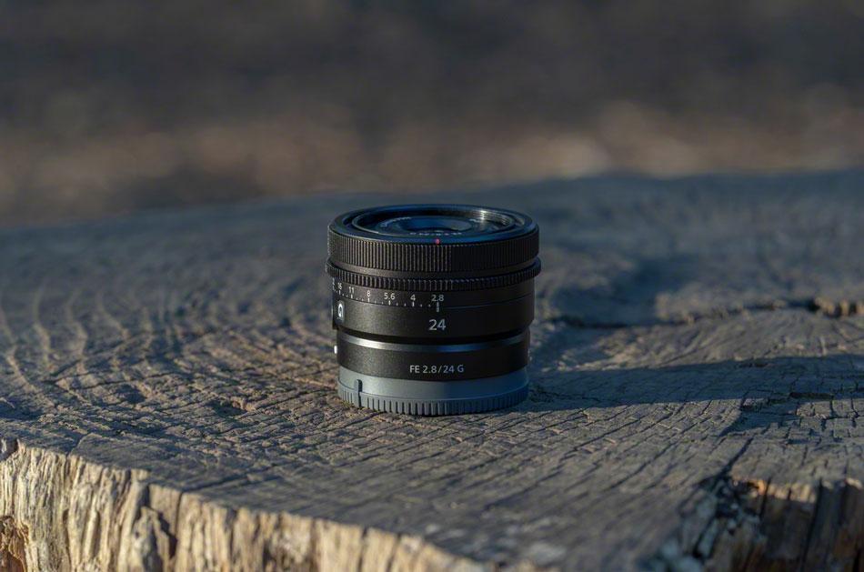 Objectif SONY FE 24mm F2.8 G