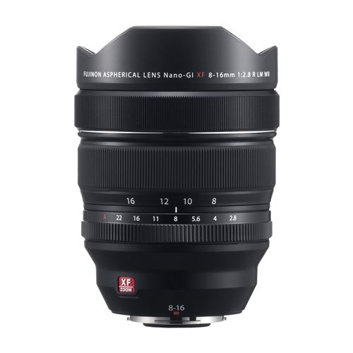Objectif XF 8-16 mm f/2,8 R LM WR - Fujifilm