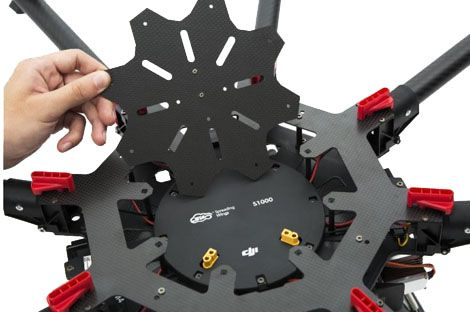 Octocoptère DJI S1000+