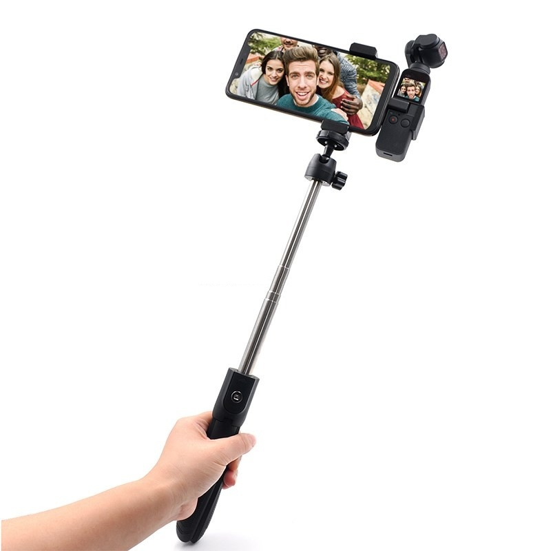 OSMO Pocket Extended Fixing Bracket + Phone Holder Holder + Selfie Stick