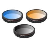 Pack 3 filtres gradués pour DJI Zenmuse X3 Zoom & Z3